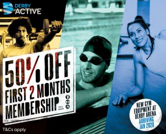 Gym swim classes - half price membership in Jan and Feb