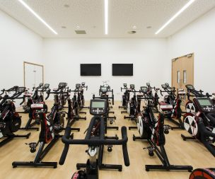 Wattbike and group exercise studios