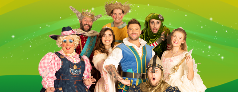 Group shot of the Jack and the Beanstalk cast